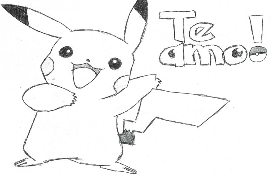 Dibujos Para Colorear Pikachu Pokemon: Listos Para Descargar