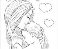 Dibujos Para Mamá A Lápiz Llenos De Amor Listos Para