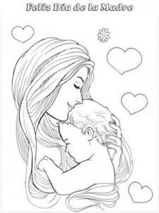 dibujos para el día de las madres