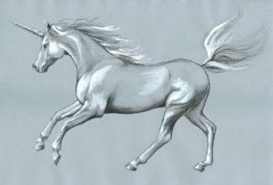 dibujos realistas de unicornios