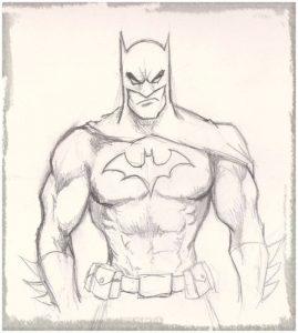 Dibujos De Batman A Lápiz El Caballero De La Noche Bruce Wayne