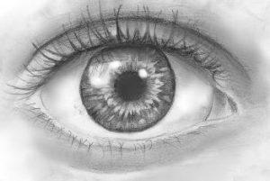 imagenes de ojos a lapiz