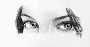 Dibujos De Ojos A Lápiz Hermosos Y Que Expresan Muchos Sentimientos