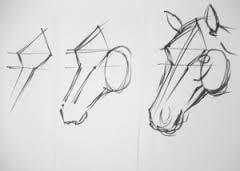 Dibujos a Lápiz para Principiantes caballito