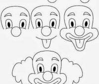 Dibujos a Lápiz para Principiantes payasos