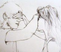 dibujo chido de amor