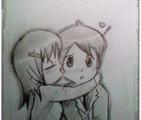 dibujo de amor para mi novio