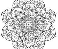 dibujos de mandalas