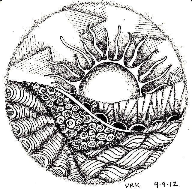 Dibujos De Mandalas Listos Para Imprimir Tu Momento Zen Del Día