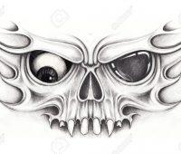 dibujos de tatuajes faciles a lápiz