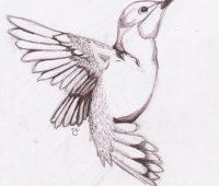 dibujos de tatuajes faciles a lapiz