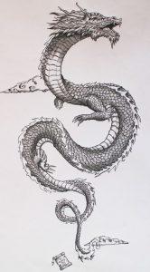 dibujos de tatuajes faciles a lapiz perrones