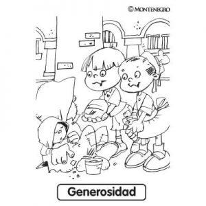 Dibujos de Generosidad bonitoa