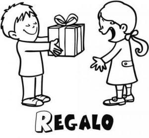Dibujos de Generosidad de regalos