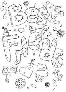 Dibujos para Amigos