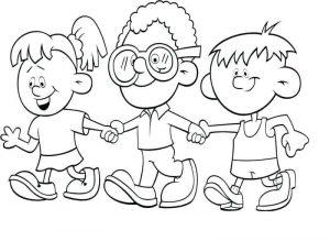dibujos chidos de amigos