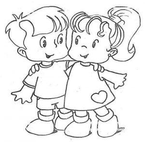 dibujos de amistad