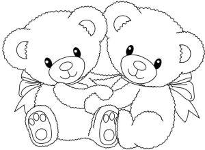 dibujos de osos para niños