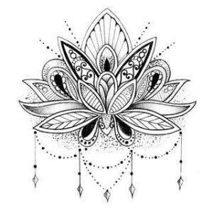 Dibujos de Flor de Loto