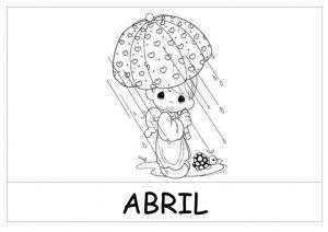 Dibujos para Portadas abril