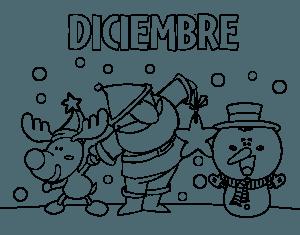 Dibujos para Portadas diciembre