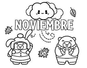Dibujos para Portadas noviembre