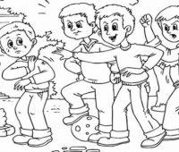 Dibujos sobre el Bullying
