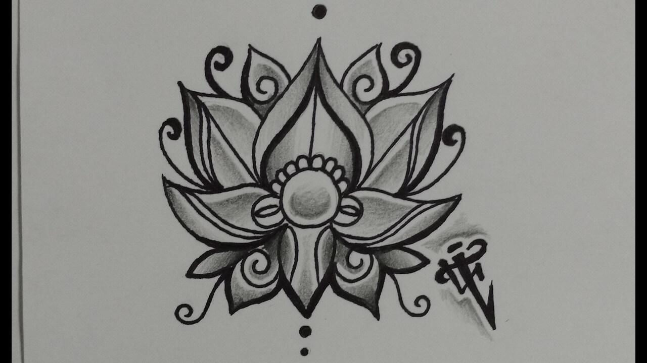 Los Mejores Dibujos De La Flor De Loto