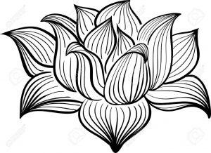Dibujos De Flores Hechos A Lapiz Faciles