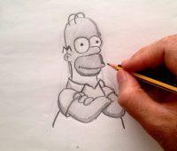 Dibujos de Homero Simpson