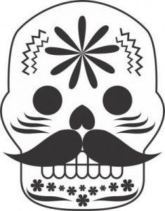 Dibujos de Día de Muertos para dibujar