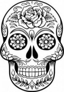 calaveras de día de muertos