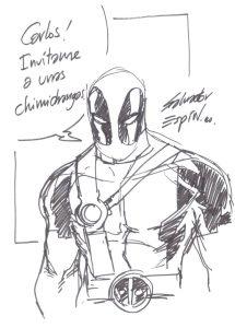 dibujos de deadpool 2