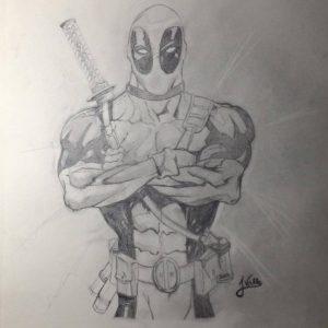 dibujos de deadpool para descargar