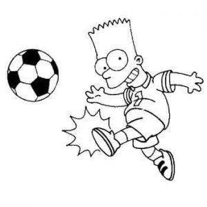 dibujos de fútbol