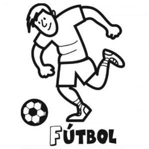 dibujos de futbolistas