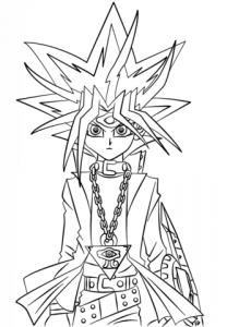 dibujos de yugioh