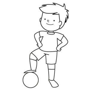 futbolistas a lápiz