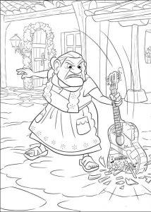 Dibujos De Coco La Película A Lápiz L Listos Para Imprimir