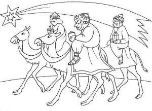 dibujos a lápiz de los reyes magos