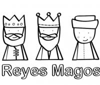 Dibujos de los Reyes Magos