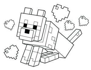 Dibujos de Minecraft bonitos