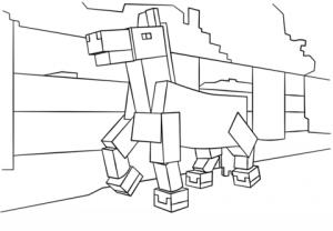 Dibujos de Minecraft de animales