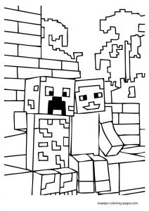 Dibujos de Minecraft gratis