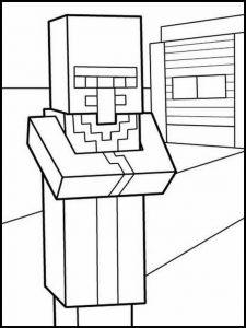 Dibujos de Minecraft para imprimir