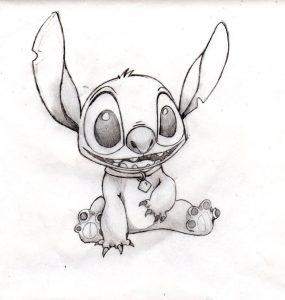 Dibujos de Stitch gratis