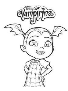 Dibujos de Vampirina