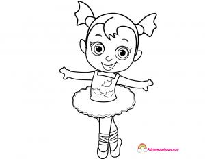 Dibujos de Vampirina gratis