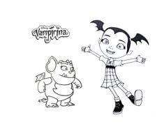 Dibujos de Vampirina para bajar