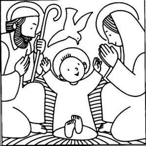 dibujos a lápiz del nacimiento de jesus